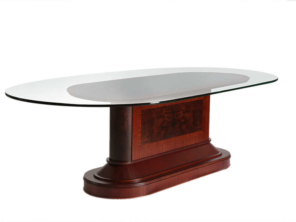 Lanzarote mesa con cristal cl sica nogal liverpool es for Comedores cyber monday